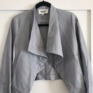 BB Dakota Vegan Leather Drapey Jacket
